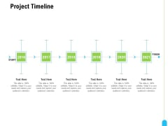 Strategic Marketing Approach Project Timeline Ppt File Graphics PDF