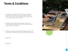 Strategic Marketing Approach Terms And Conditions Ppt Gallery Smartart PDF