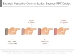 Strategic Marketing Communication Strategy Ppt Design