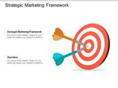 Strategic Marketing Framework Ppt PowerPoint Presentation Model Layouts Cpb