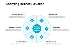 Strategic Marketing Plan Analysing Business Situation Ppt PowerPoint Presentation Ideas PDF