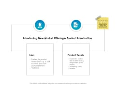 Strategic Marketing Plan Introducing New Market Offerings Product Introduction Ppt Layouts Model PDF