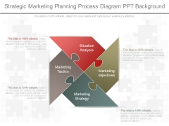 Strategic Marketing Planning Process Diagram Ppt Background