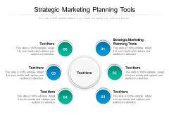Strategic Marketing Planning Tools Ppt PowerPoint Presentation Portfolio Gridlines Cpb