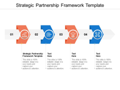 Strategic Partnership Framework Template Ppt PowerPoint Presentation Outline Layout Cpb