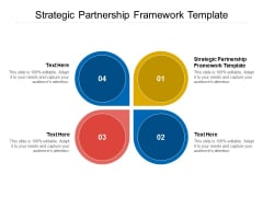 Strategic Partnership Framework Template Ppt PowerPoint Presentation Rules Cpb Pdf