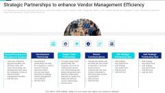 Strategic Partnerships To Enhance Vendor Management Efficiency Designs PDF