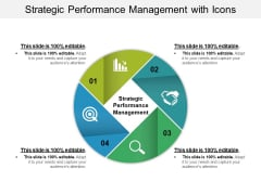 Strategic Performance Management With Icons Ppt PowerPoint Presentation Inspiration Summary