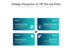 Strategic Perspective For Hr Plan And Policy Ppt PowerPoint Presentation Portfolio Good PDF