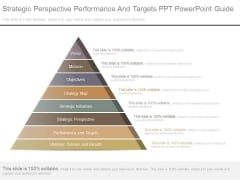 Strategic Perspective Performance And Targets Ppt Powerpoint Guide