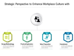 Strategic Perspective To Enhance Workplace Culture With Ppt PowerPoint Presentation Visual Aids Icon PDF