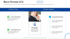 Strategic Plan For Business Expansion And Growth Buyer Persona Segment Professional PDF