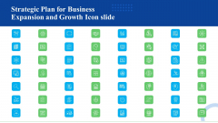 Strategic Plan For Business Expansion And Growth Icon Slide Microsoft PDF