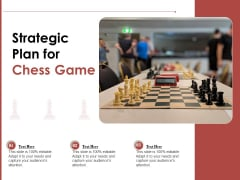 Strategic Plan For Chess Game Ppt PowerPoint Presentation File Examples PDF