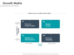 Strategic Plan For Companys Development Growth Matrix Ppt PowerPoint Presentation Model Outfit