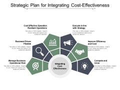 Strategic Plan For Integrating Cost Effectiveness Ppt PowerPoint Presentation Infographics Example