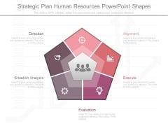 Strategic Plan Human Resources Powerpoint Shapes