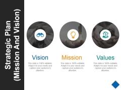 Strategic Plan Template 4 Ppt PowerPoint Presentation Slides Icon