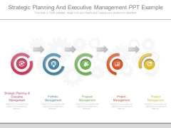 Strategic Planning And Executive Management Ppt Example