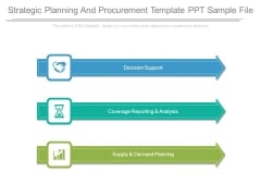 Strategic Planning And Procurement Template Ppt Sample File