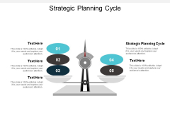 Strategic Planning Cycle Ppt PowerPoint Presentation Show Ideas Cpb