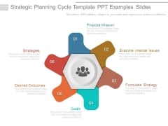 Strategic Planning Cycle Template Ppt Examples Slides