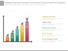 Strategic Planning Exercises For Business Groups Powerpoint Graphics