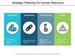 Strategic Planning For Human Resource Ppt Powerpoint Presentation Gallery Example