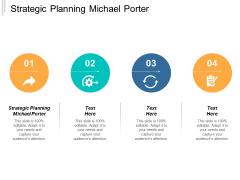 Strategic Planning Michael Porter Ppt PowerPoint Presentation Gallery Visuals Cpb