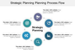 Strategic Planning Planning Process Flow Ppt PowerPoint Presentation Show Guide