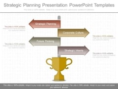 Strategic Planning Presentation Powerpoint Templates