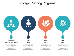 Strategic Planning Programs Ppt PowerPoint Presentation Layouts Maker Cpb