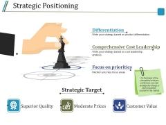 Strategic Positioning Ppt PowerPoint Presentation Portfolio Designs Download