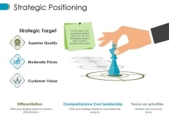Strategic Positioning Ppt PowerPoint Presentation Show Designs Download
