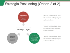 Strategic Positioning Template Ppt PowerPoint Presentation Gallery Samples