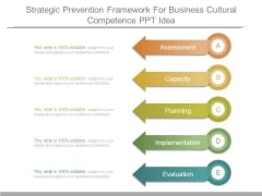 Strategic Prevention Framework For Business Cultural Competence Ppt Idea