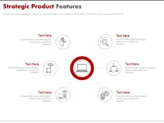 Strategic Product Features Ppt Slides