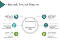 Strategic Product Features Template 2 Ppt PowerPoint Presentation Diagrams