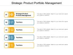 Strategic Product Portfolio Management Ppt PowerPoint Presentation Summary Files Cpb