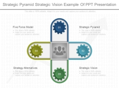 Strategic Pyramid Strategic Vision Example Of Ppt Presentation