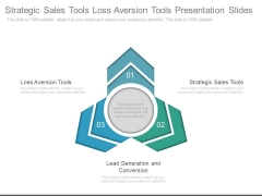 Strategic Sales Tools Loss Aversion Tools Presentation Slides