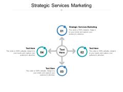 Strategic Services Marketing Ppt PowerPoint Presentation Model Elements Cpb