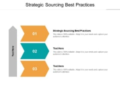 Strategic Sourcing Best Practices Ppt PowerPoint Presentation Model Microsoft Cpb