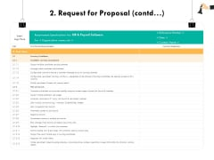 Strategic Sourcing For Better Procurement Value 2 Request For Proposal Contd Ppt Infographic Template Show PDF