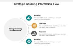 Strategic Sourcing Information Flow Ppt PowerPoint Presentation Portfolio Samples Cpb