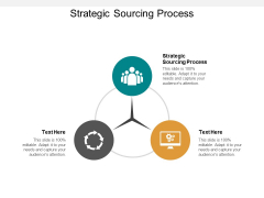 Strategic Sourcing Process Ppt PowerPoint Presentation Model Design Inspiration Cpb