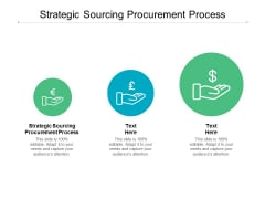 Strategic Sourcing Procurement Process Ppt PowerPoint Presentation Show Example Cpb