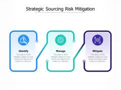 Strategic Sourcing Risk Mitigation Ppt PowerPoint Presentation File Icon PDF
