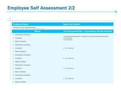 Strategic Talent Management Employee Self Assessment Planning Ppt PowerPoint Presentation Layouts Demonstration PDF