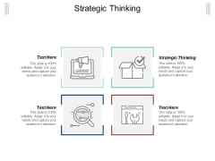 Strategic Thinking Ppt Powerpoint Presentation Infographic Template Designs Cpb